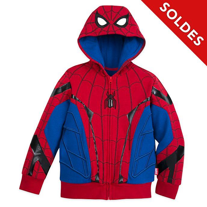 Disney Store Sweat à capuche costume Spider-Man pour enfants