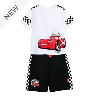 Disney Store Lightning McQueen Top and Shorts Set For Kids