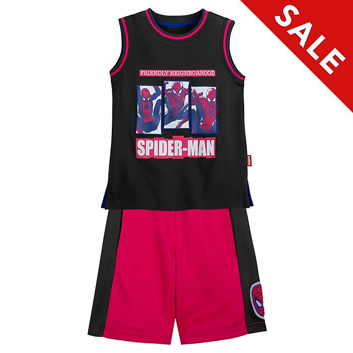 Disney Store - Spider-Man - Set mit Tank Top und Shorts für Kinder