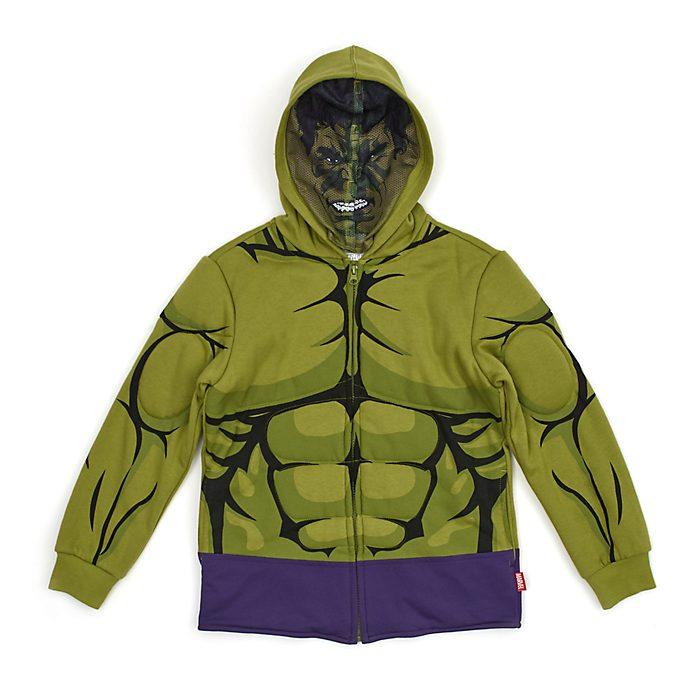 Disney Store Hulk Hooded Sweatshirt For Kids