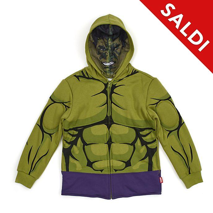 Felpa bimbi con cappuccio Hulk Disney Store