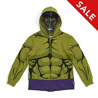 Disney Store Hulk Hooded Sweatshirt For Kids
