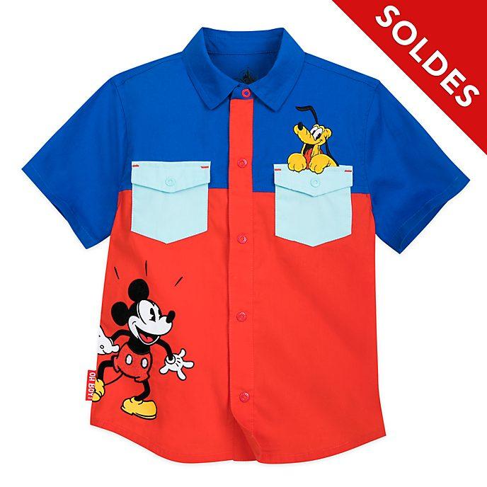 Disney Store Chemise Mickey et Pluto pour enfants