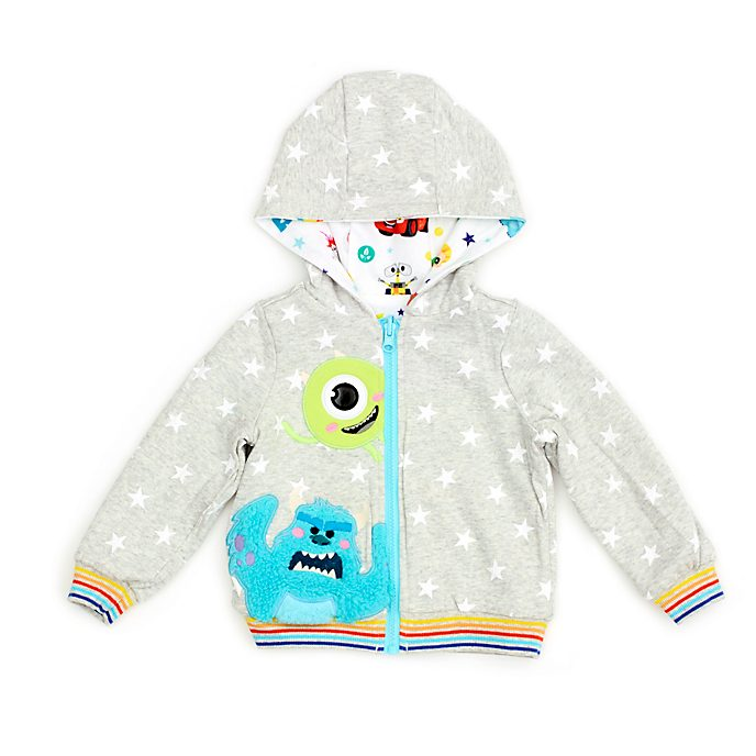 Felpa reversibile con cappuccio bimbi World of Pixar Disney Store