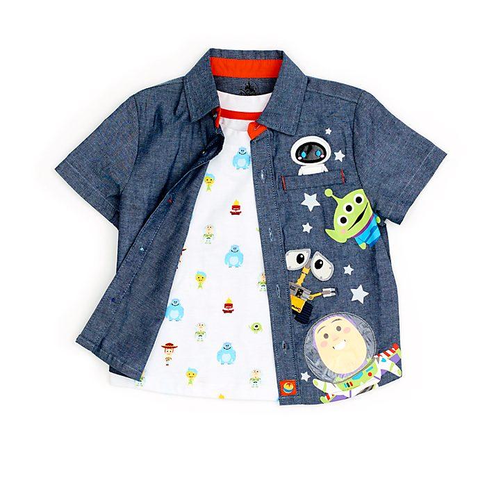 Completo camicia e maglietta bimbi World of Pixar Disney Store