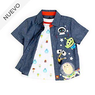 Set infantil camiseta y camisa World of Pixar, Disney Store