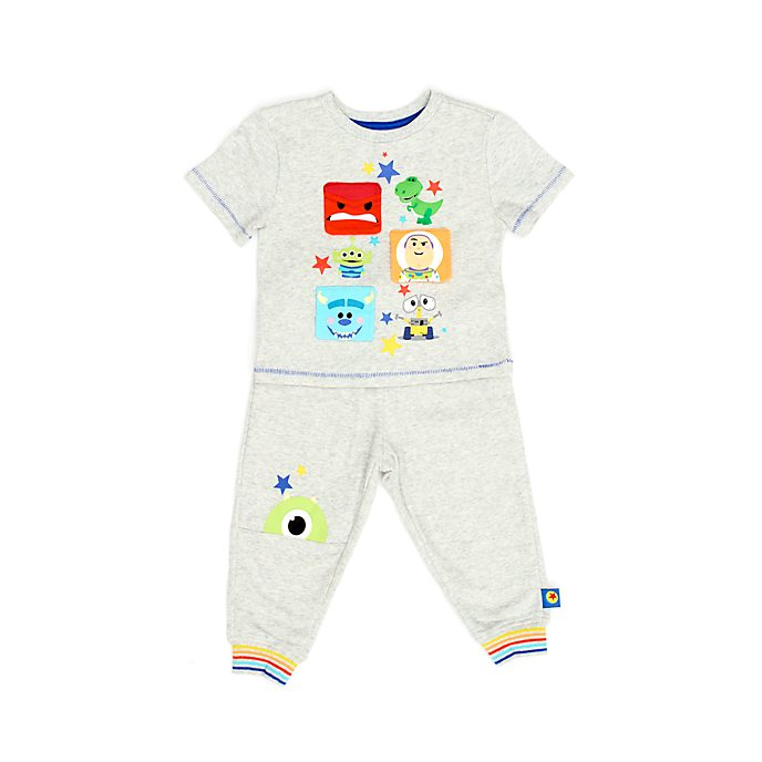 Conjunto infantil camiseta y pantalón deporte World of Pixar, Disney Store