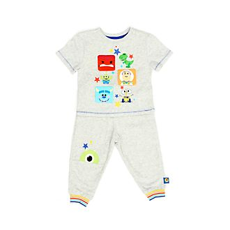 Disney Store World of Pixar T-Shirt and Jogger Set For Kids