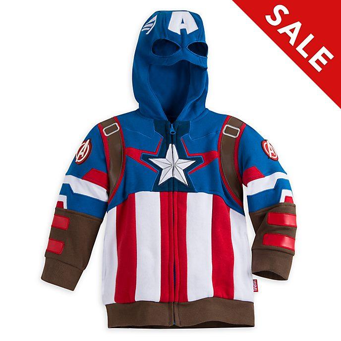 Disney Store - Captain America - Kapuzensweatshirt für Kinder