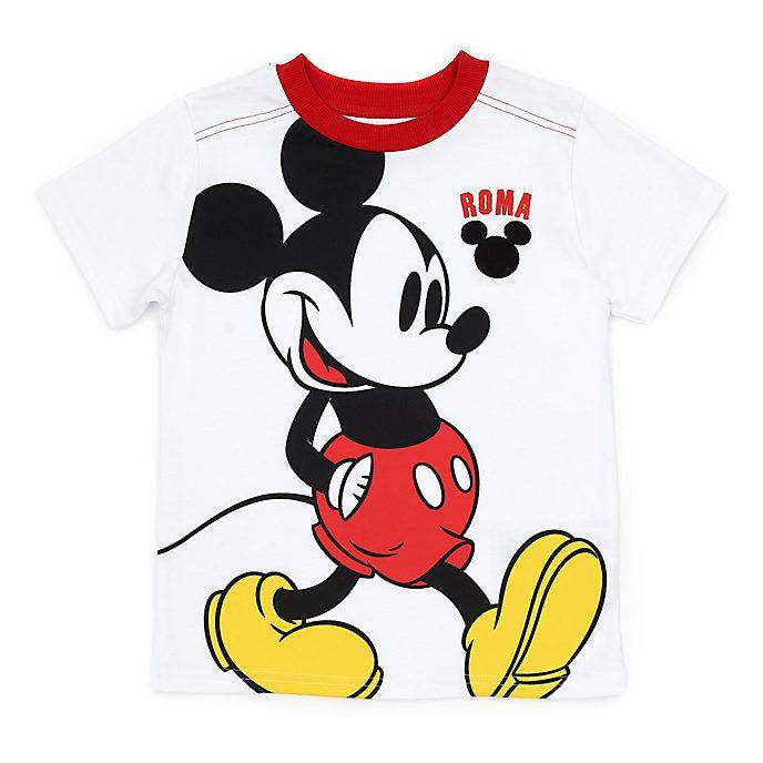 Disney Store T-shirt Mickey Rome pour enfants