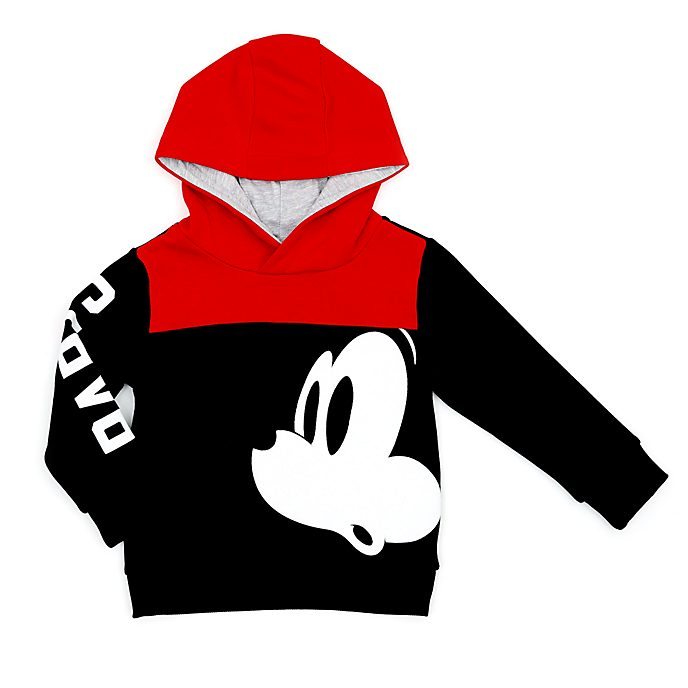 Disney Store Mickey Mouse Paris Hooded Sweatshirt For Kids