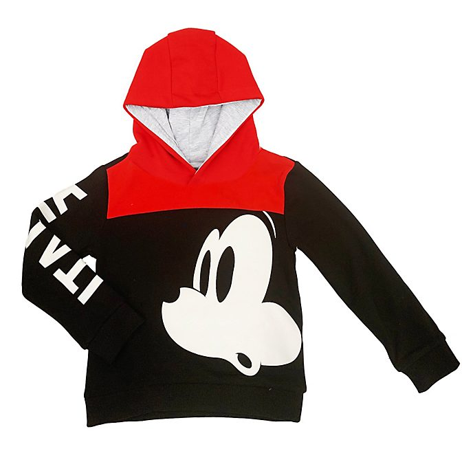 Disney Store Mickey Mouse Italia Hooded Sweatshirt For Kids
