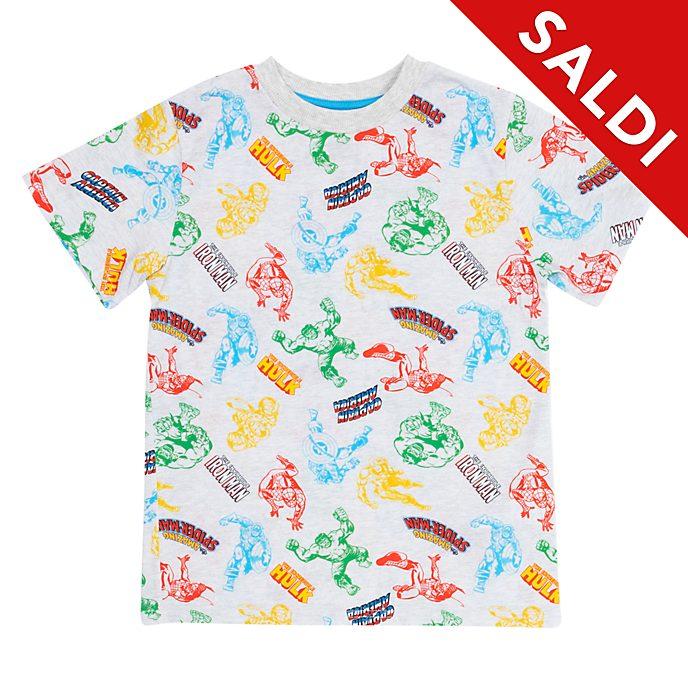 Maglietta bimbi fumetti Marvel Disney Store
