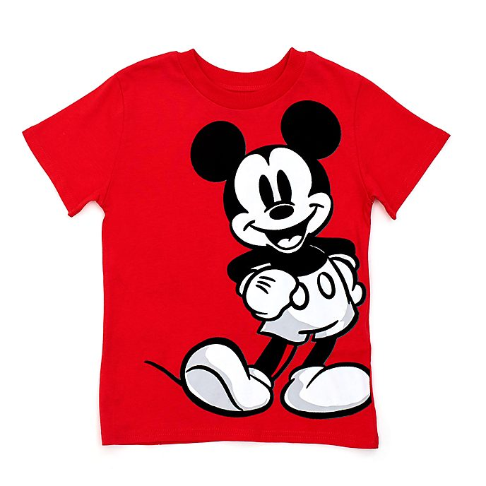 Disney Store Mickey Mouse Red T-Shirt For Kids