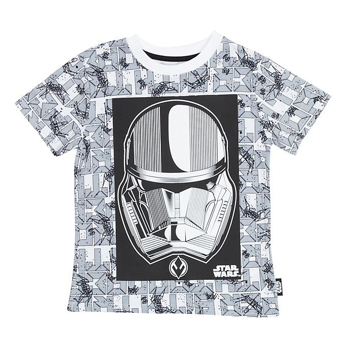 Disney Store - Star Wars: Der Aufstieg Skywalkers - Sith Trooper - T-Shirt für Kinder