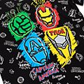 Disney Store Avengers Black T-Shirt For Kids