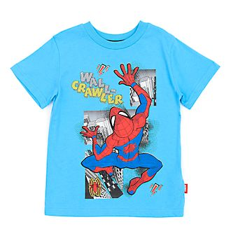 Disney Store Spider-Man Blue T-Shirt For Kids