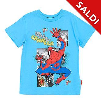 Maglietta bimbi Spider-Man blu Disney Store