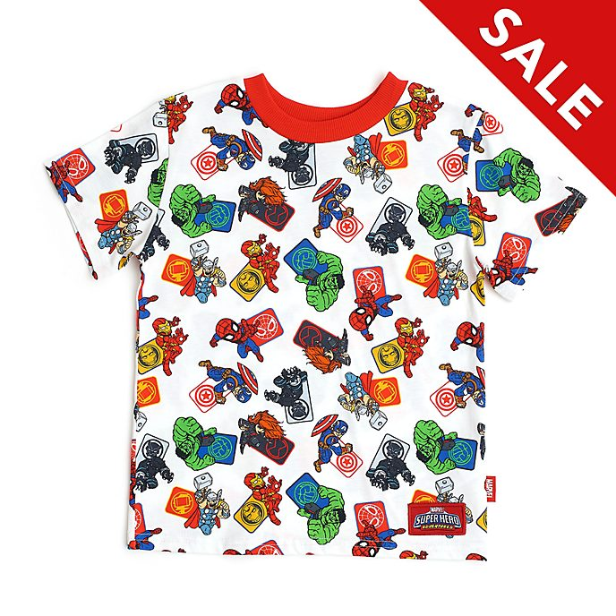 Disney Store Avengers White T-Shirt For Kids