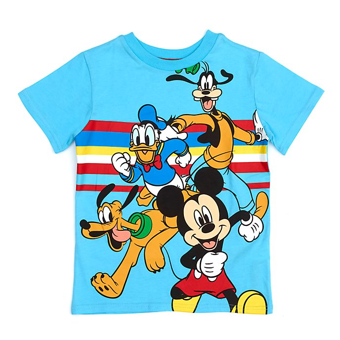 Disney Store Mickey and Friends Blue T-Shirt For Kids