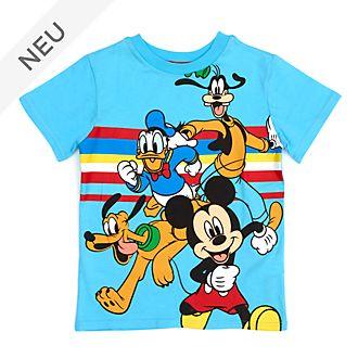 Disney Store - Micky und seine Freunde - Blaues T-Shirt für Kinder