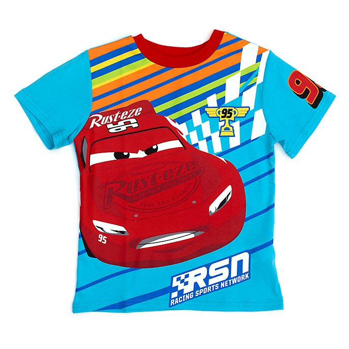 Disney Store Lightning McQueen T-Shirt For Kids