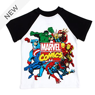 Disney Store Marvel Comics T-Shirt For Kids