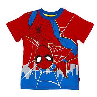 Disney Store - Spider-Man - Rotes T-Shirt für Kinder