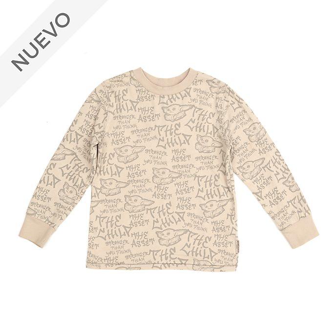 Camiseta manga larga infantil El Niño, Star Wars, Disney Store