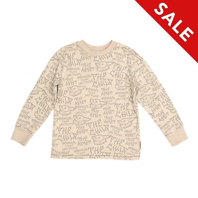 Disney Store The Child Long Sleeved T-Shirt For Kids, Star Wars