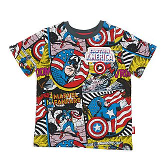 Disney Store Captain America T-Shirt For Kids
