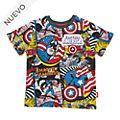 Camiseta infantil Capitán América, Disney Store
