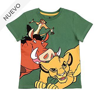 Camiseta infantil El Rey León, Disney Store