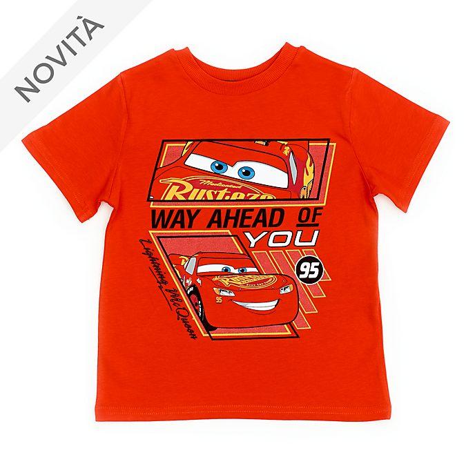 Maglietta bimbi Saetta McQueen rosso Disney Store