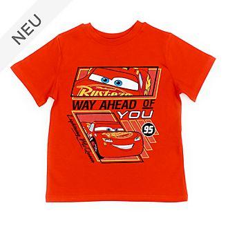 Disney Store - Lightning McQueen - Rotes T-Shirt für Kinder