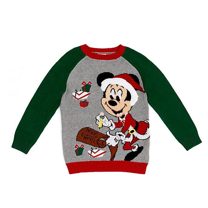 Jersey navideño infantil Mickey Mouse, Holiday Cheer, Disney Store