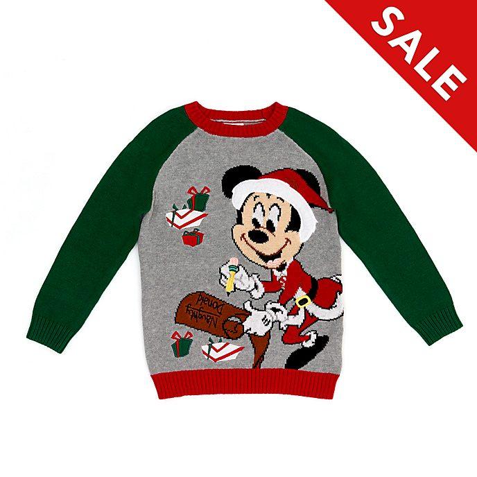 Disney Store - Holiday Cheer - Micky Maus - Weihnachtspullover für Kinder