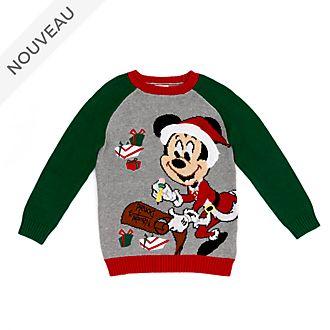 Disney Store Pull de Noël Mickey pour enfants, Holiday Cheer