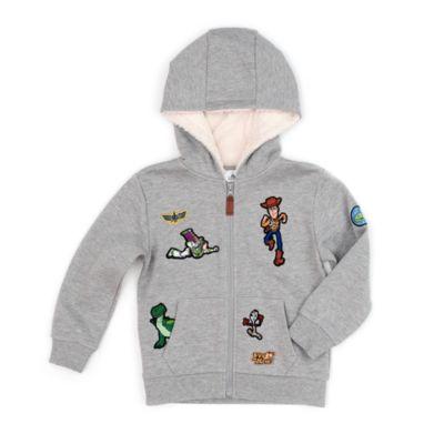 Bambino Disney Toy Story 4 Prodotto Originale con Licenza Ufficiale Felpa con Cappuccio e Tasche a Canguro Woody e Buzz