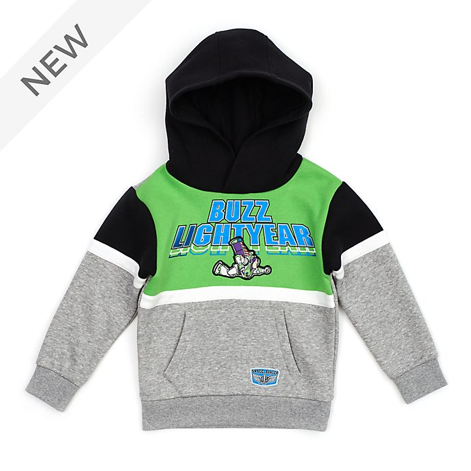 Disney Store Buzz Lightyear Hooded Sweatshirt For Kids