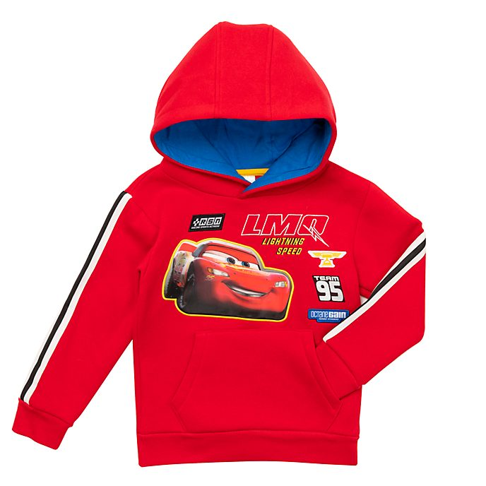 Disney Store - Lightning McQueen - Kapuzensweatshirt für Kinder