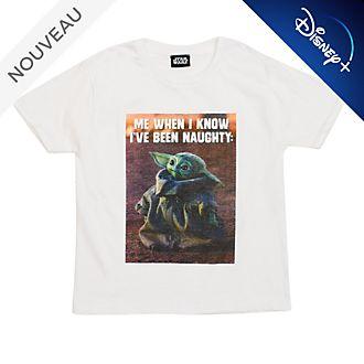 T-shirt L'Enfant pour enfants, The Mandalorian