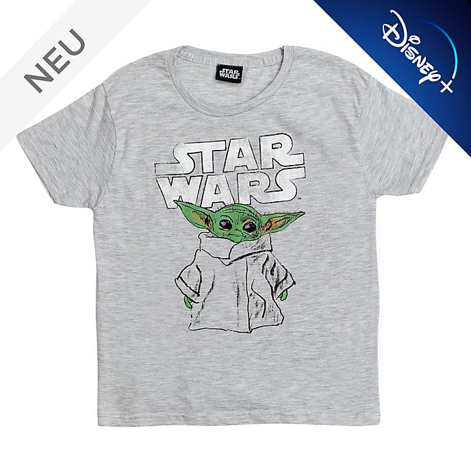 Star Wars: The Mandalorian - Das Kind - T-Shirt mit skizzenartigem Motiv für Kinder