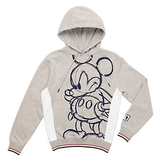 Disney Store Mickey Mouse Hooded Sweatshirt For Adults