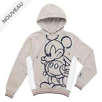 Disney Store Sweatshirt à capuche Mickey pour adultes