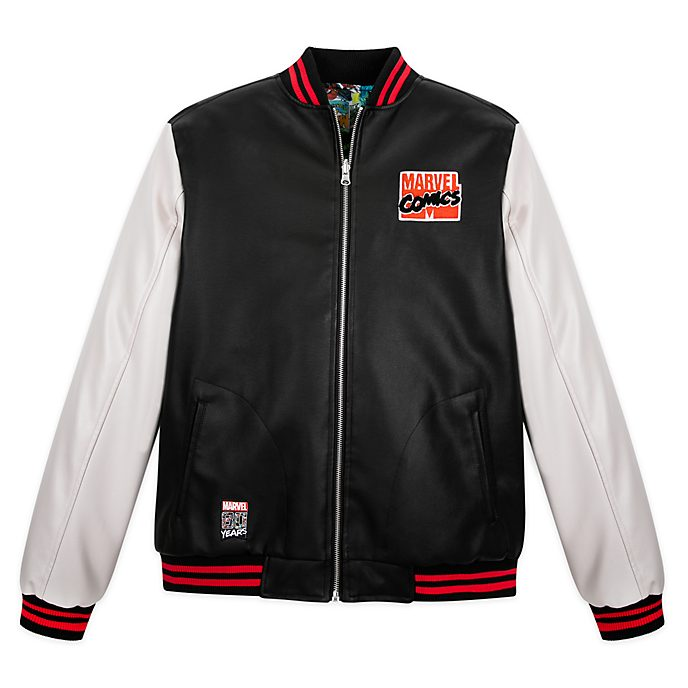 Disney Store Marvel Reversible Bomber Jacket for Adults