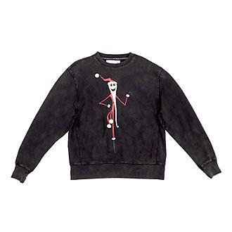 Disney Store Jack Skellington Sweatshirt For Adults