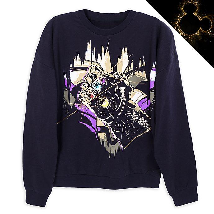 Disney Store - Thanos - Infinity-Handschuh - Leuchtendes Sweatshirt für Erwachsene