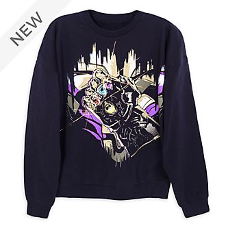Disney Store Thanos Infinity Gauntlet Light-Up Sweatshirt For Adults