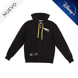 Sudadera con capucha para adultos Grogu, El Niño, Star Wars, Disney Store